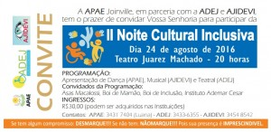 II Noite Cultural Inclusiva